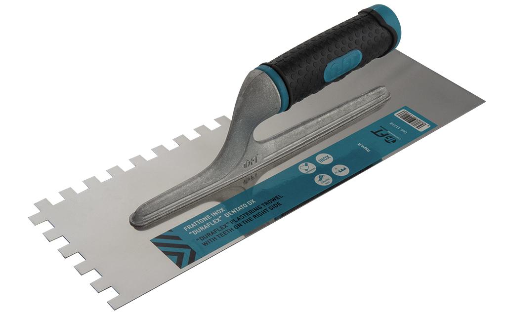 """PLAIN S.S. PLASTERING TROWEL """"DURAFLEX"""" 280X120 mm"""