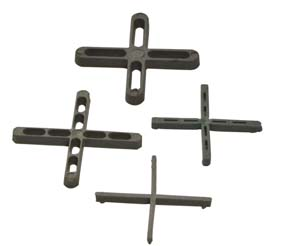 CROSSED SPACER FOR TILES 500 PCS; 2 mm