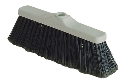 BROOM MADE IN NYLON BRISTLES WITHOUT HANDLE