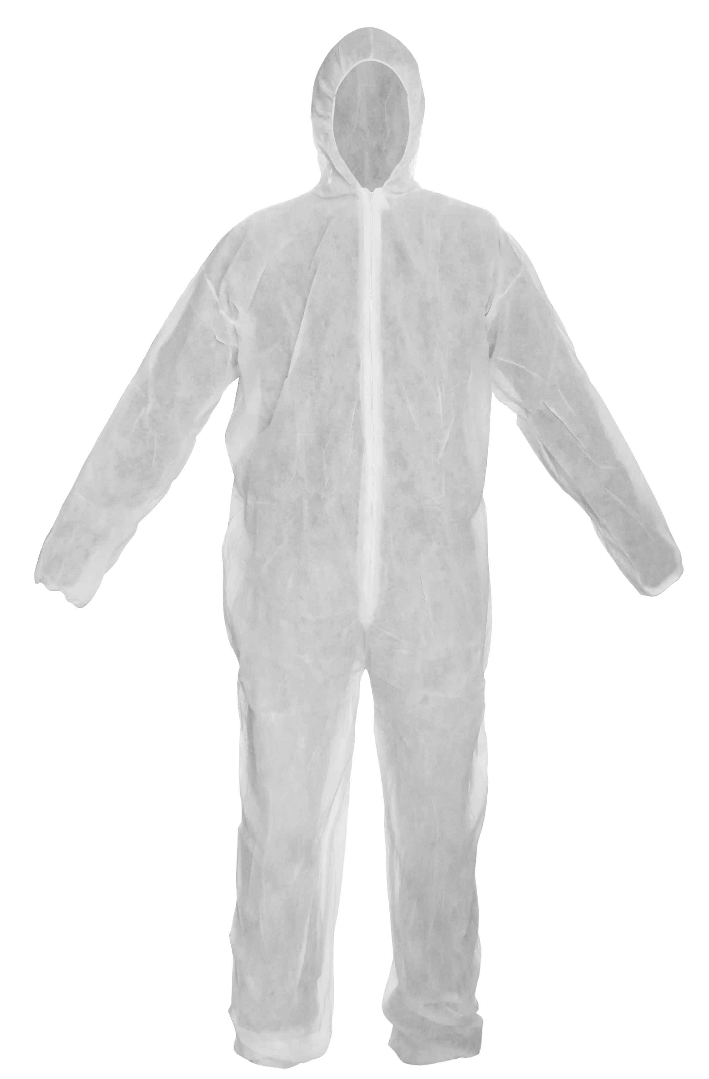 OVERALLS IN POLYPROPYLENE CE SIZE M