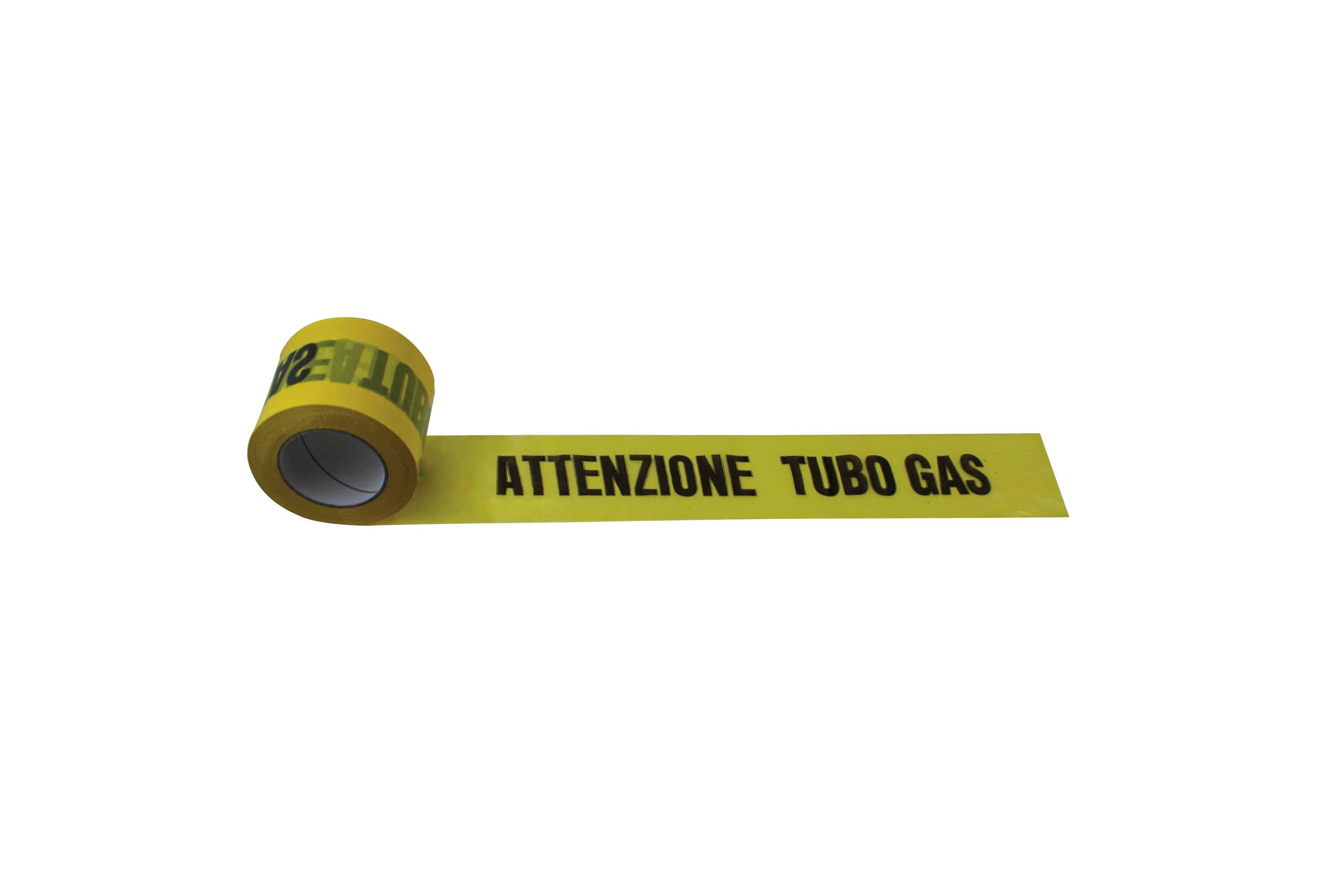 NASTRO DI SEGNALAZIONE TUBO GAS