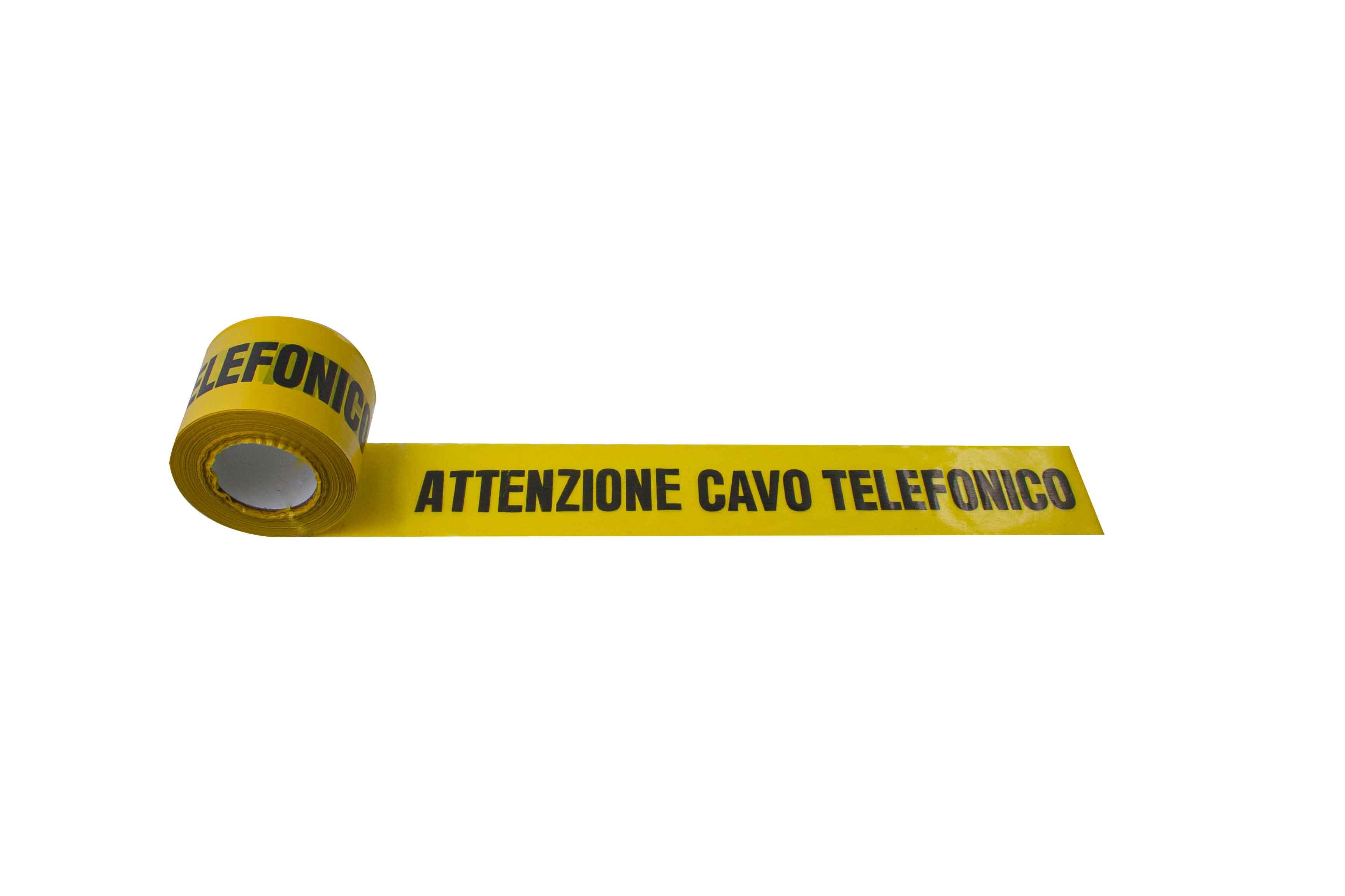 UNDERGROUND WARNING TAPE – TELEPHONE CABLE