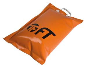 ORANGE EMPTY BAG