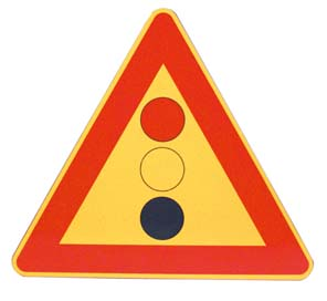 TRIANGLE – TRAFFIC LIGHT SIGN