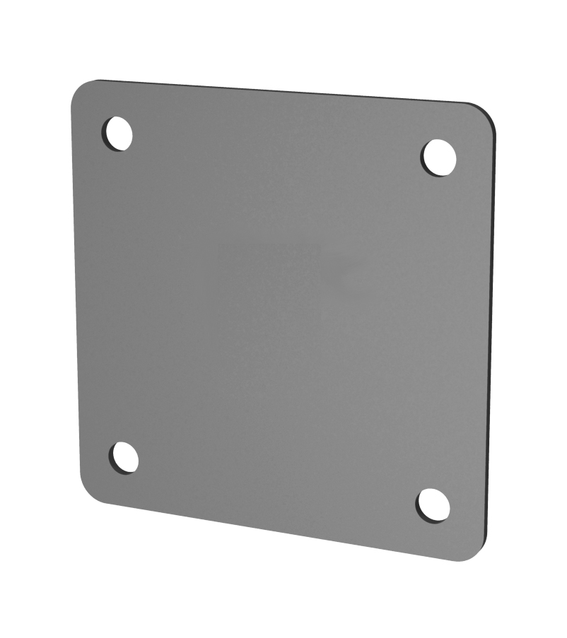 PLATE WITH THREADED HOLES