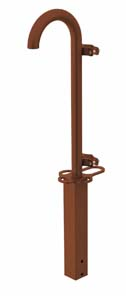 COLUMN WITH ANTENNA HOLDER PIPE