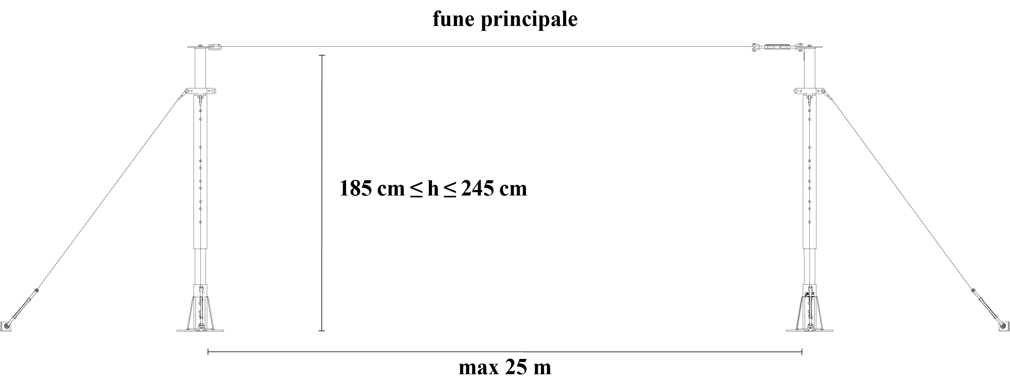 PROLUNGA MASCHIO H.115 CM