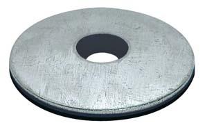 RONDELLA CON GUARNIZIONE IN EPDM DIAM. INT.  6,7 mm