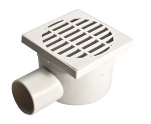 PP LATERAL DRAINAGE WATER COVER 105X105 mm