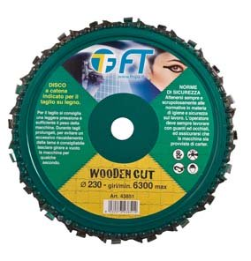 "DISCO PER LEGNO CON CATENA ""WOODEN CUT"""